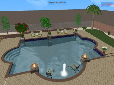 Outdoor living spaces boulder creek pools and spas - 3d Virtual Pool Designs Boulder Creek Pools And Spas