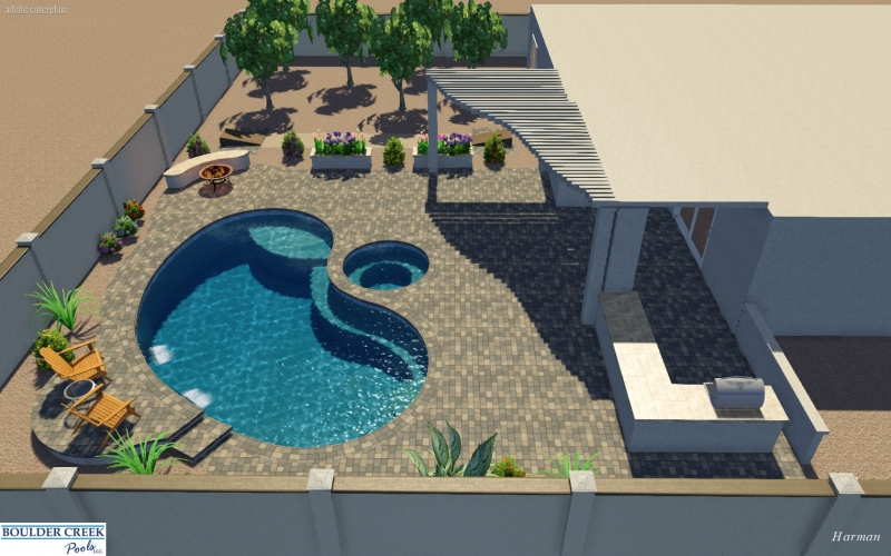 3d Virtual Pool Designs Boulder Creek Pools And Spas