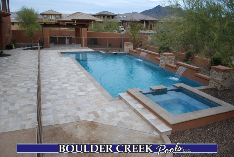 before and after boulder creek pools and spas