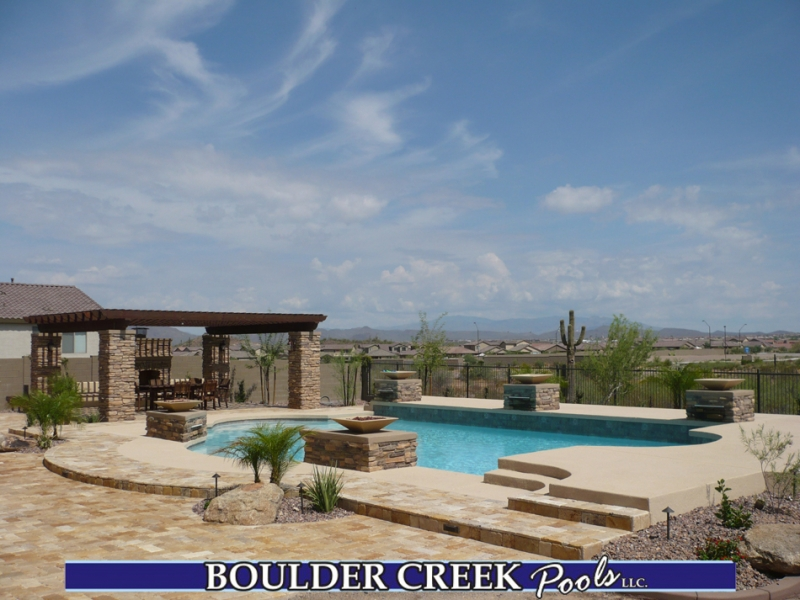 Outdoor living spaces boulder creek pools and spas - Geometric Pools Boulder Creek Pools And Spas