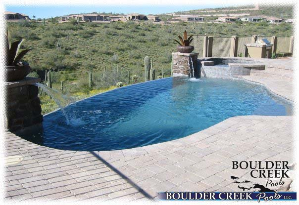 Negative Edge Pools - Boulder Creek Pools and Spas