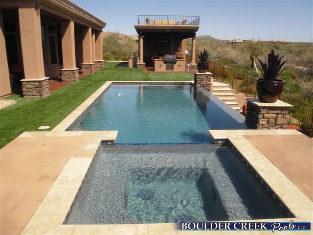 Negative Edge Pools Boulder Creek Pools And Spas