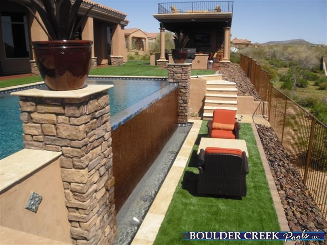 Outdoor living spaces boulder creek pools and spas - Pics Photos Sitting Areas Fireplaces And Ramadas Are