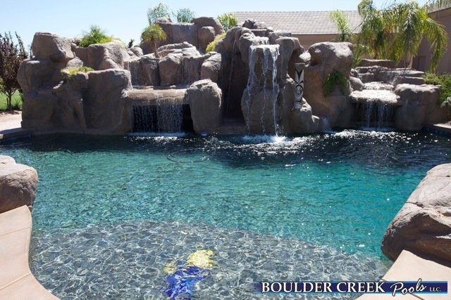 Tropical pools boulder creek pools and spas - How soon can you swim after plastering pool ...