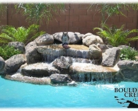 Water Features - Real Rock Waterfall